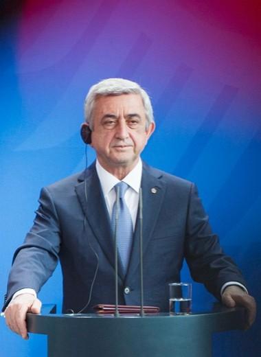 Саргсян хотел поиграть в армянского Путина