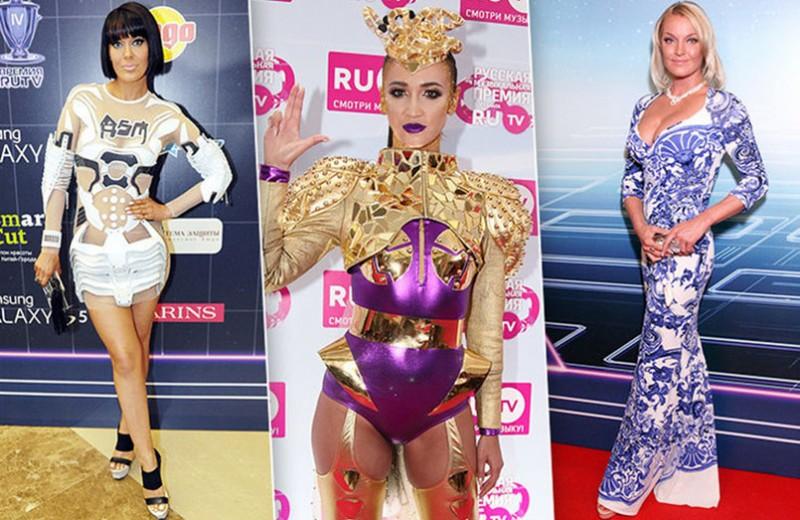 Премия RU.TV: самые странные образы звезд церемонии за все годы