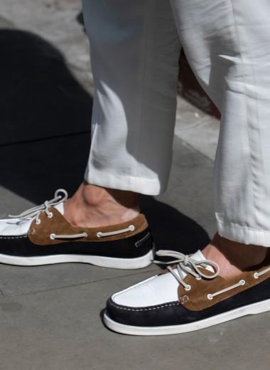 История создания топсайдеров — яхтенных туфель