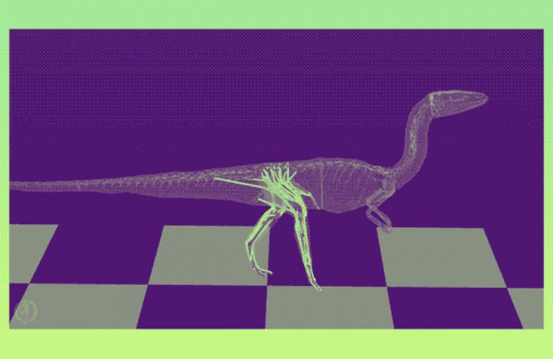 Хвост сэкономил динозавру энергию при ходьбе