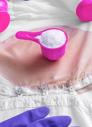 Как вывести пятно с ткани: лучшие народные рецепты