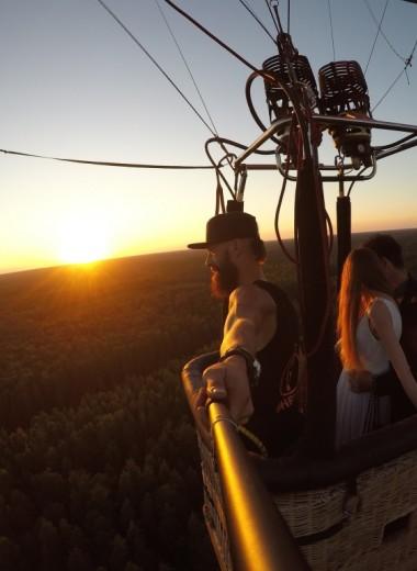 Кто они – пилоты воздушных шаров? Интервью в пять утра на высоте 100 метров над землей