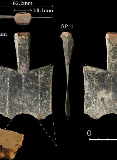Древние китайцы первыми в мире начали чеканить бронзовые деньги в виде лопаток
