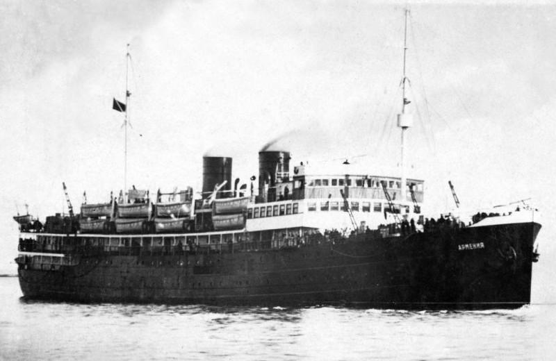 В Черном море нашли теплоход «Армения», потопленный немцами во время Второй мировой войны