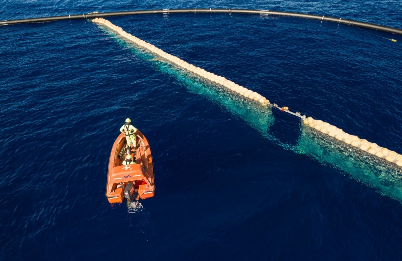 Очистка Мирового океана от мусора вышла на новый уровень