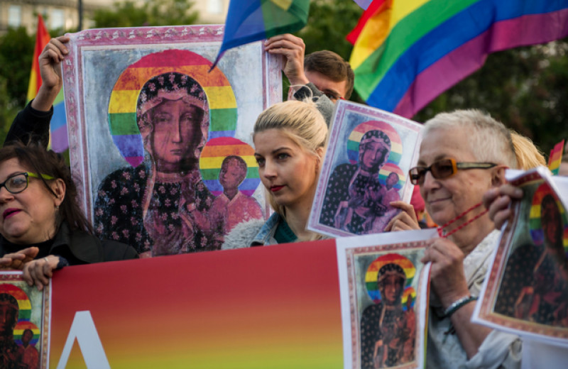 Pussy Riot по-польски. Как в центре Евросоюза судят активисток за «радужную Богородицу»
