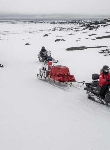 Старт миссии на остров Диско: очень холодно и очень красиво