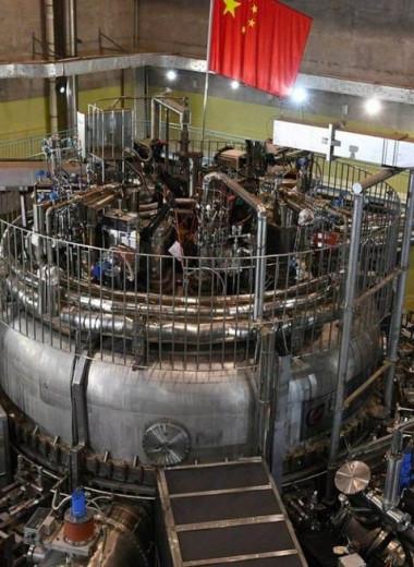 Китайский токамак установил рекорд по времени удержания плазмы