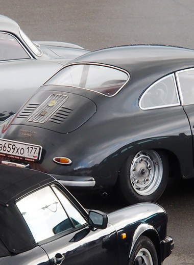 Русские следы спорткаров Porsche