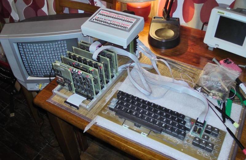 6 советских компьютеров на схеме для умельцев-любителей
