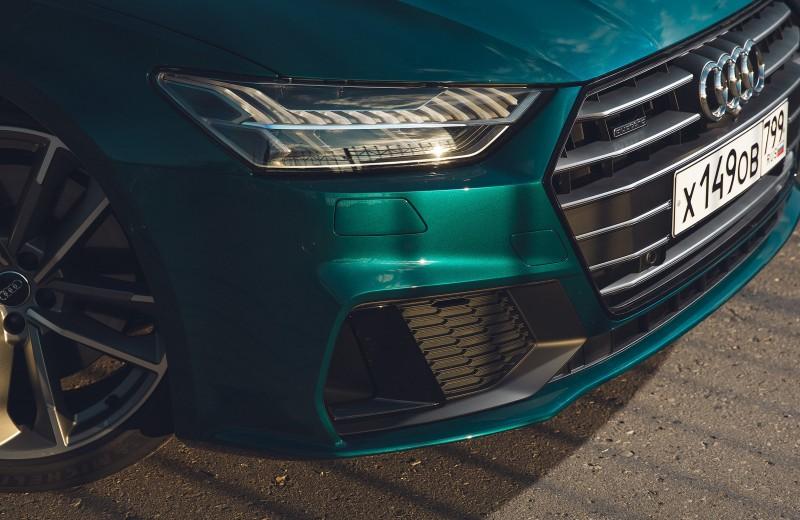 Семь главных фишек Audi A7