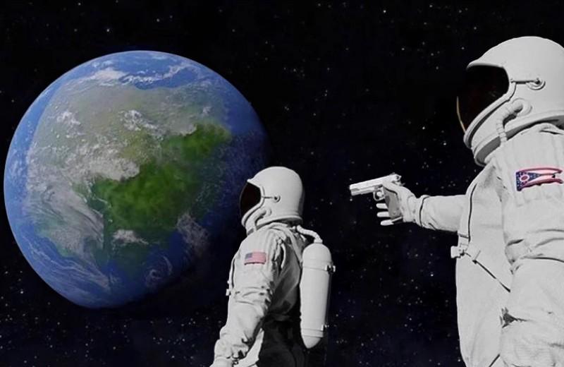 Какое оружие брали с собой космонавты и зачем