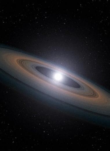 Избыток водорода на белом карлике объяснили поглощением богатой водой планетезимали