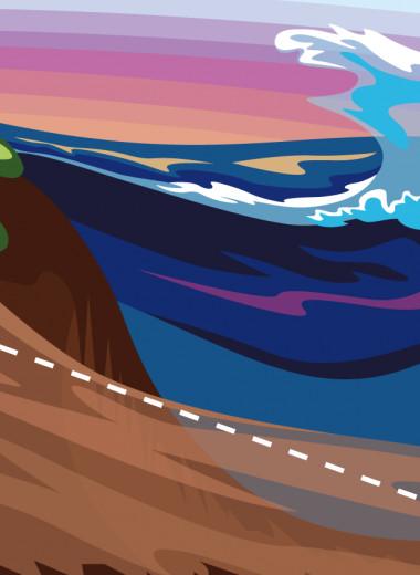Ученые построили модель оползней, вызывающих цунами