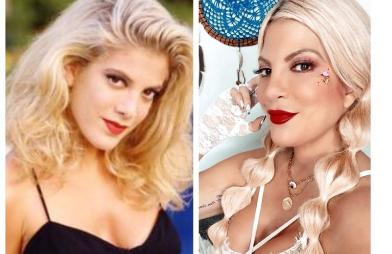 Тогда и сейчас: как выглядят красавицы-актрисы сериала «Беверли-Хиллз, 90210»