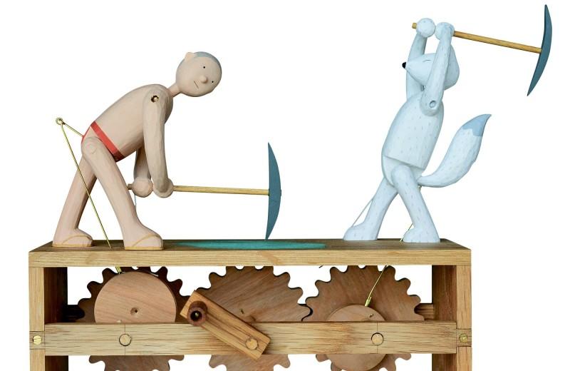 Автоматоны Казуаки Харады: деревянные чудеса