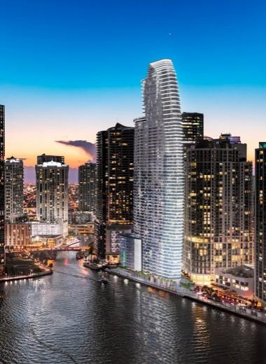 В Майами начали строить первый жилой небоскреб Aston Martin с квартирами до $50 млн