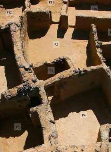 В Египте нашли развалины монастыря с библейскими надписями
