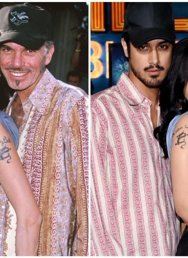 Скандальный образ Анджелины Джоли с мужем повторили актеры фильма «Zомбилэнд»