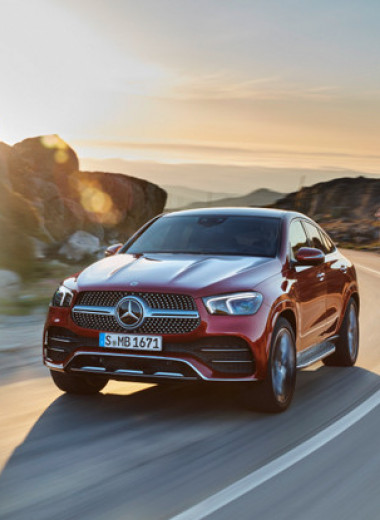 Когда можно больше, чем нужно. Тест-драйв Mercedes GLE 400d Coupe