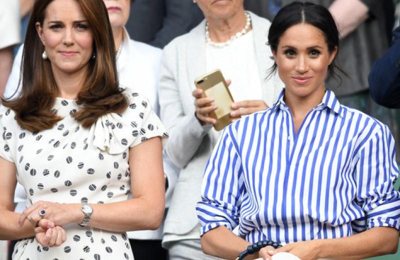 Кейт застенчивая, а Меган эмоциональная: эксперты сравнили руки двух герцогинь