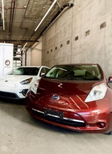 Американцы создали универсальную станцию замены аккумуляторов электромобилей