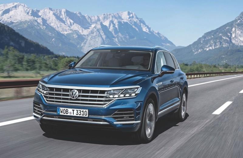 Горные испытания: тест-драйв нового Volkswagen Touareg