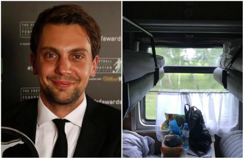 Впечатления британца от путешествия в поезде Екатеринбург-Самара. Уморительный ОТЧЕТ
