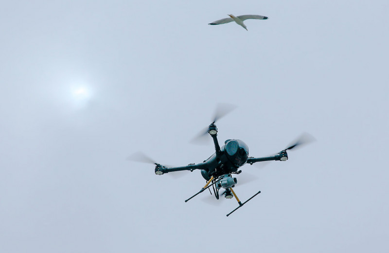 ГИБДД начала штрафовать с помощью дронов. Где они летают и как наказывают