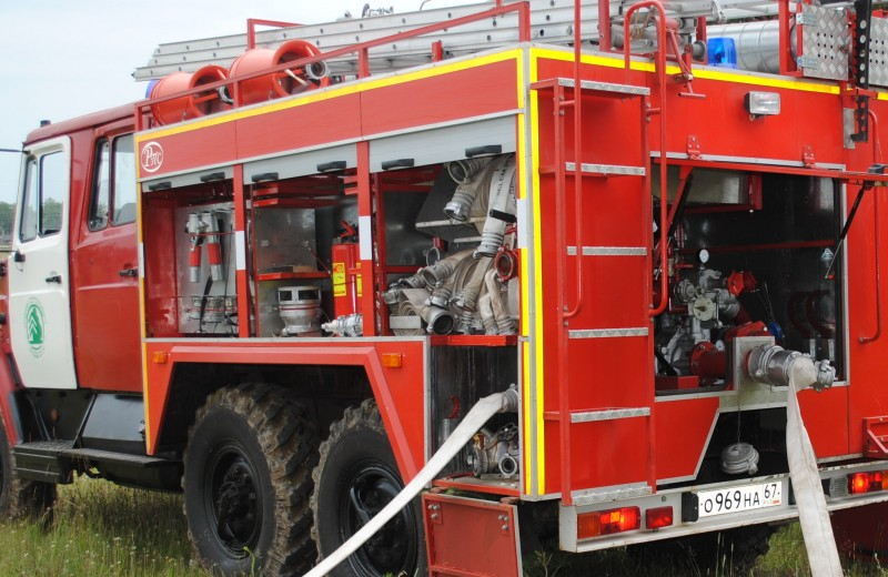 Пенная вечеринка: как устроена пожарная машина