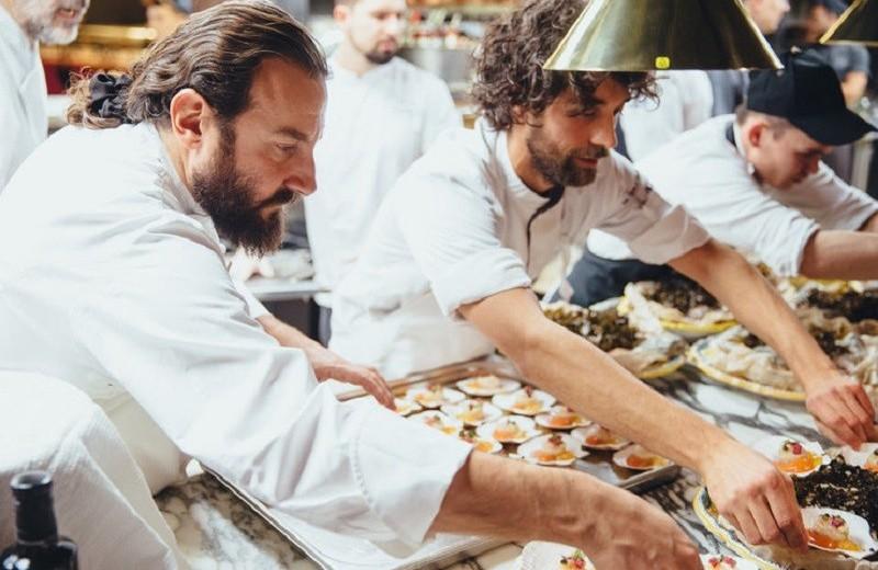 В Москве прошел гастрономический ужин Golden Triangle при поддержке Grey Goose