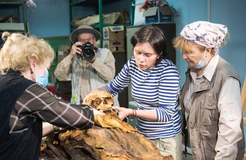 Российские археологи обнаружили необычное захоронение в Египте