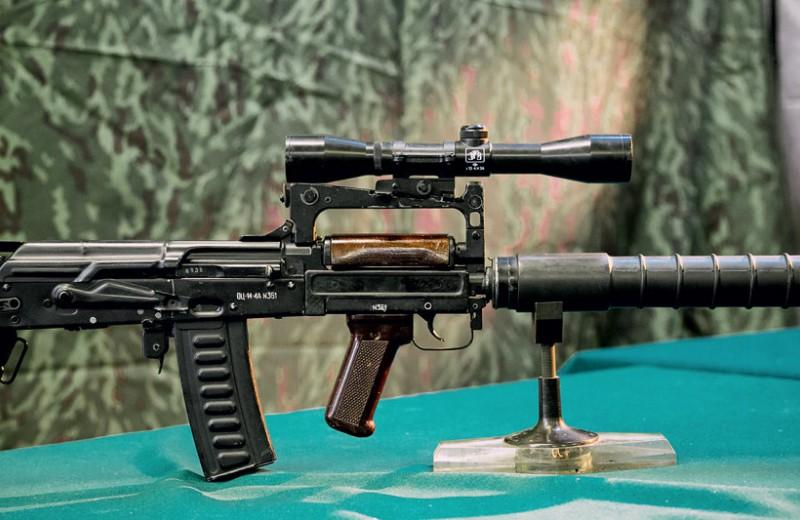ОЦ-14 «Гроза»: самый необычный российский автомат