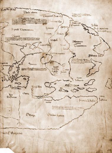 Карта Винланда, считавшаяся древнейшей картой Северной Америки, оказалась фальшивкой