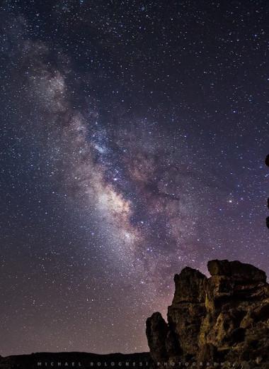 Ночное небо Канарских островов признано «самым темным» на планете