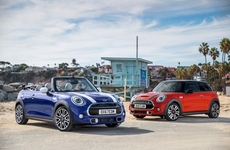 Новое поколение: MINI 3 двери, MINI 5 дверей и MINI Cabrio