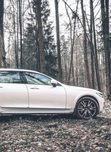 Напрямик: тест Volvo V90 Cross Country