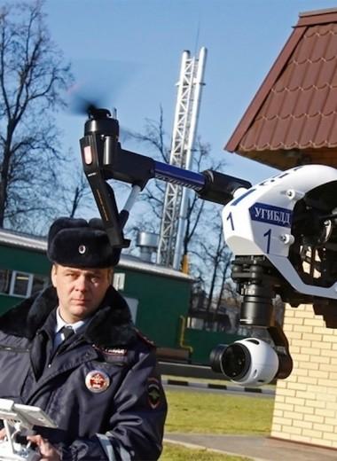 «Эта штука летела за мной». ГИБДД фиксирует нарушения дронами