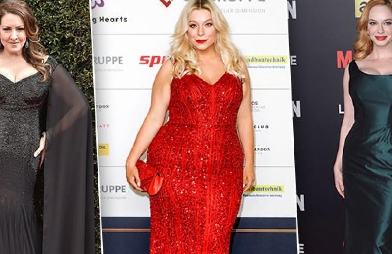 Весомые тренды: выбираем вечернее платье большого размера