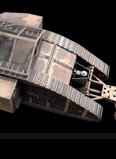Машины смерти: как выглядели первые в мире танки