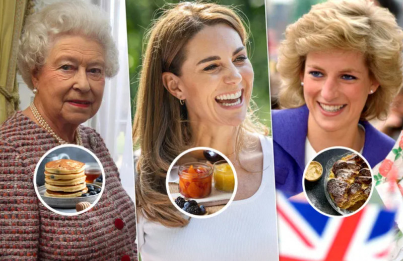 Пудинг от леди Ди, чатни от Кейт Миддлтон и другие рецепты королевской семьи