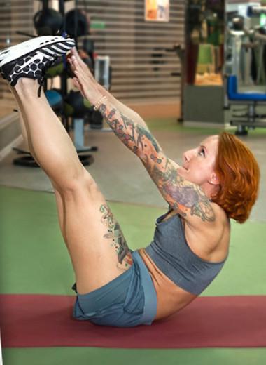 Идеальный пресс: тренировка от фитнес-эксперта