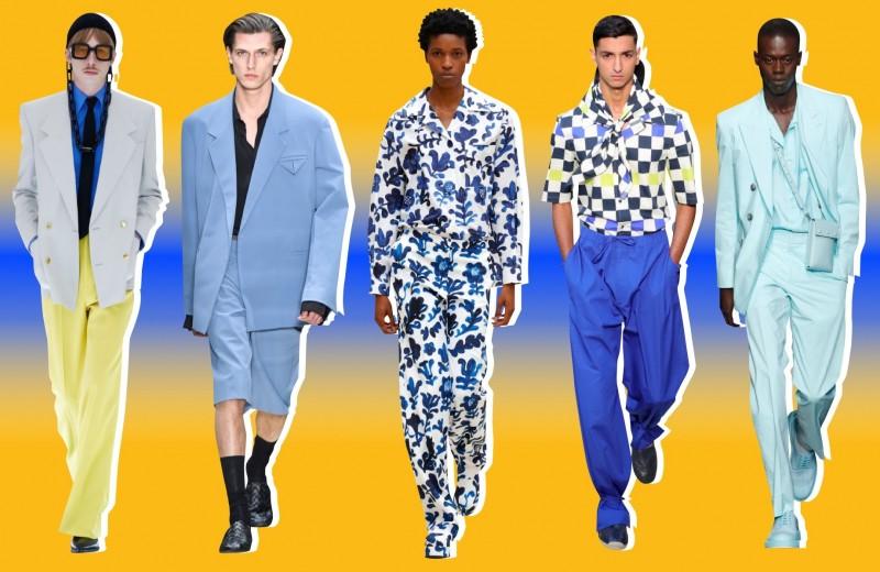 Лучшие показы недели моды в Милане с мужскими выходами