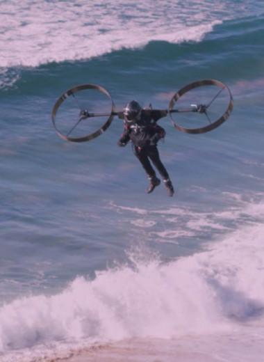 В Австралии испытали экологически чистое персональное летательное устройство: видео