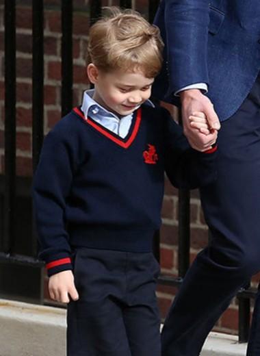 Принц Джордж и принцесса Шарлотта — самые милые модники королевской семьи