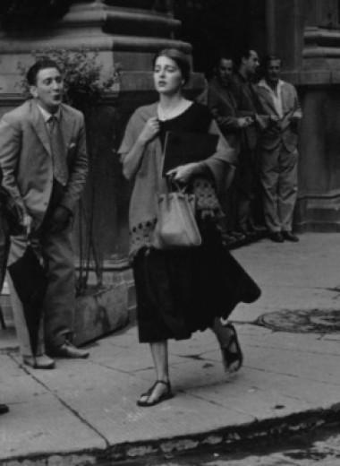 История одной фотографии: американка в Италии