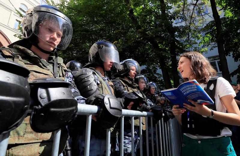Протесты в столице поддержала треть москвичей