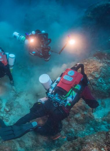 Новые находки на месте антикитерского кораблекрушения: видео