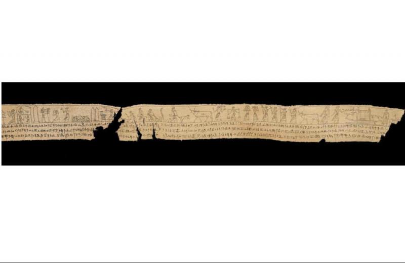 2300-летний паззл: фрагменты полотна мумии нашли в разных частях света
