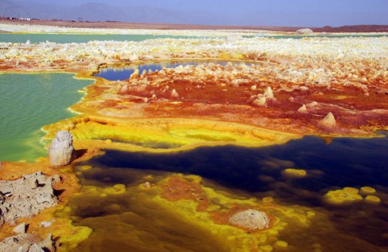 «Инопланетный» вулкан: эфиопский Даллол